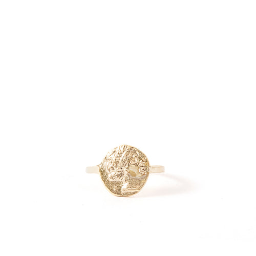 Kathryn Bentley Athena Coin Ring