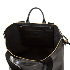 Black Honolulu Le Zip Sac - Interior