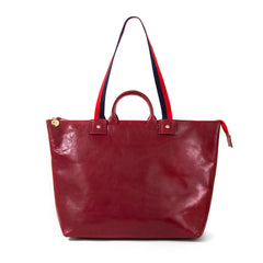 Oxblood Le Zip Sac - Front