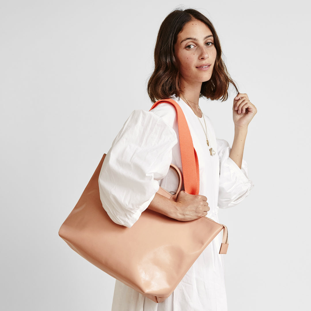 Pale Pink Le Zip Sac