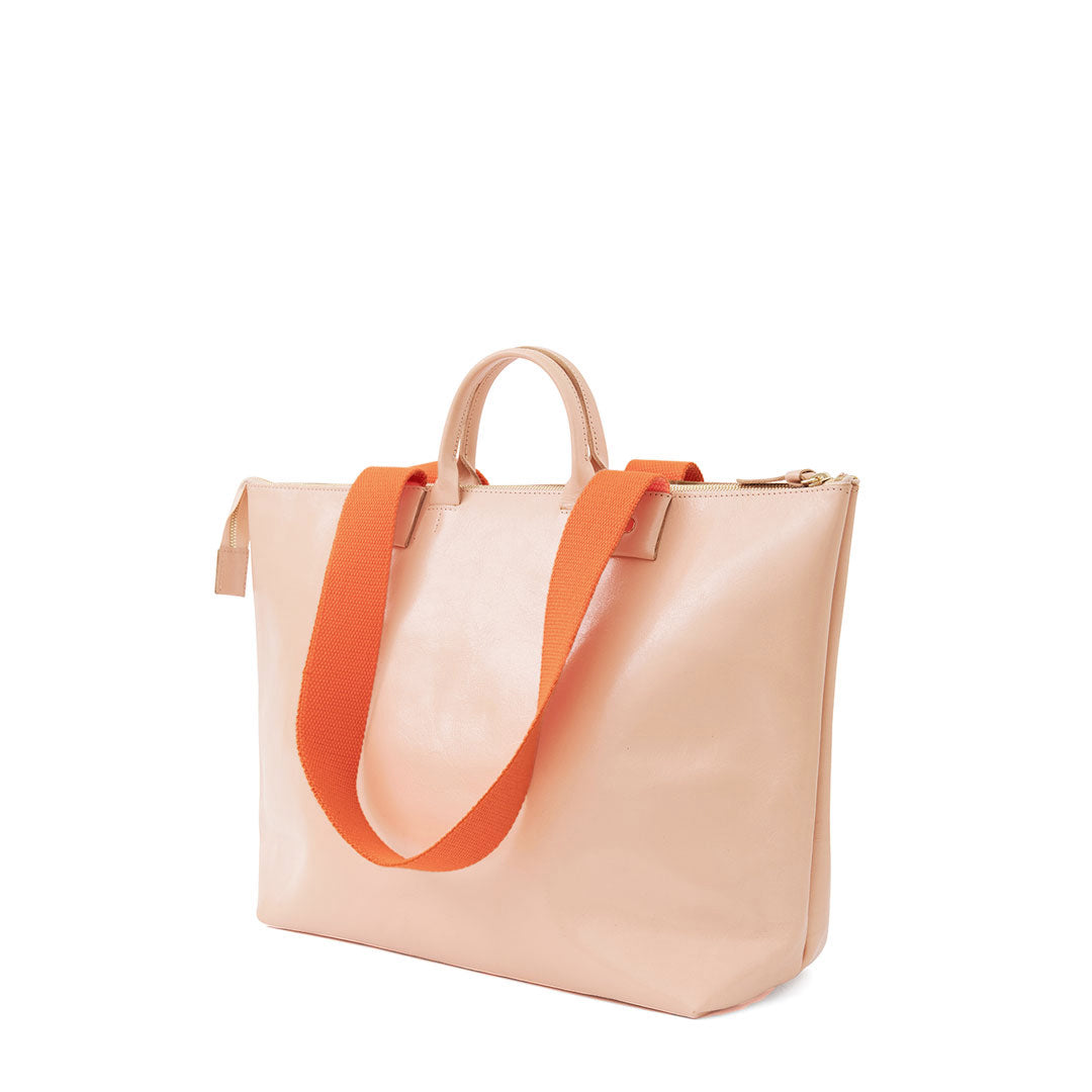 Pale Pink Le Zip Sac - Back