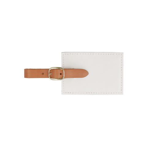 White-Amalfi-Luggage-Tag