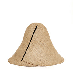 Janessa Leoné Madeleine Natural Hat - Back