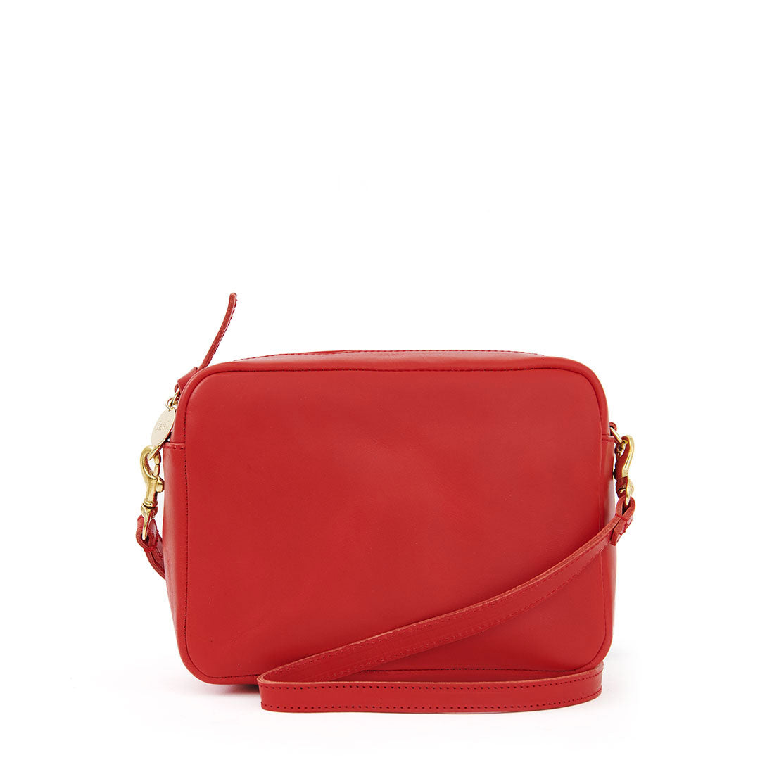 Cherry Red Midi Sac - Front