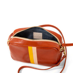 Sienna Rustic with Stripes Midi Sac - Interior