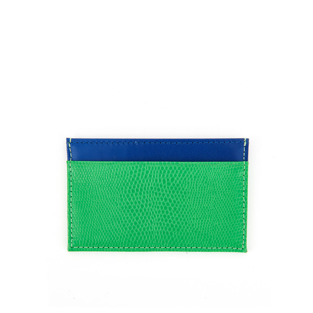 Parrot Green Lizard Mike's Card Case