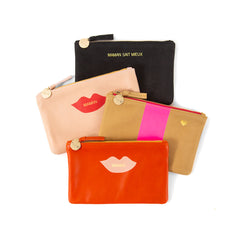 Monogrammed Wallet Clutches