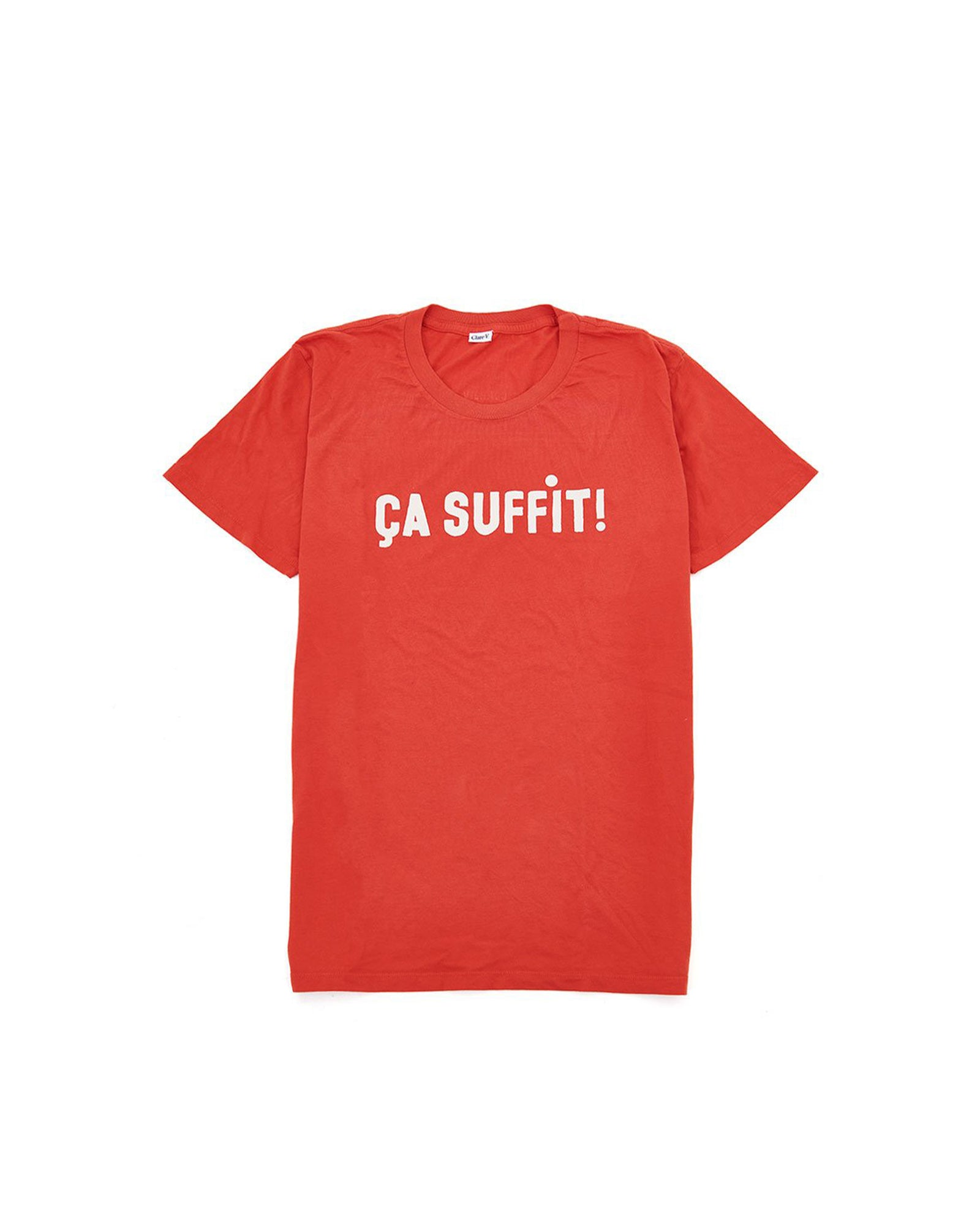 Ça Suffit Red Original Tee - Front