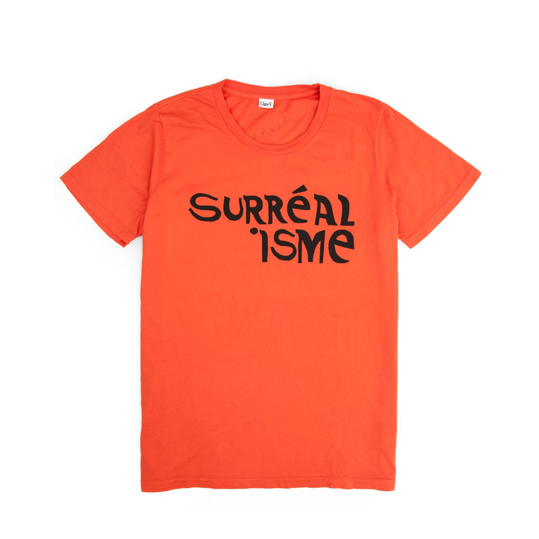 Surréalisme  Blood Orange Tee - Front
