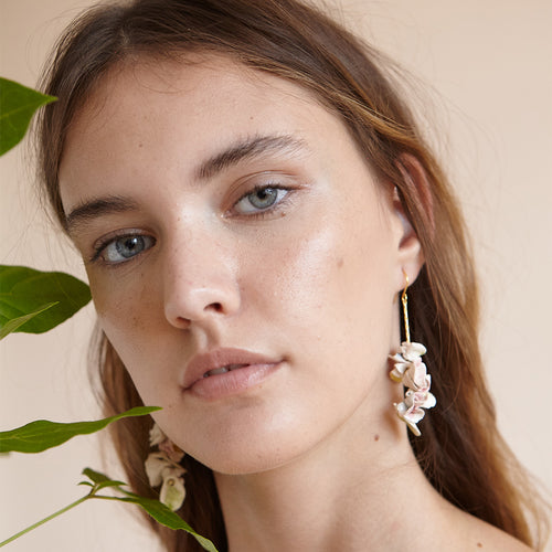 Pedrusco Camelia Earrings