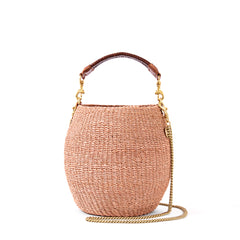 Blush Pot de Miel with Thin Chain Shoulder Strap