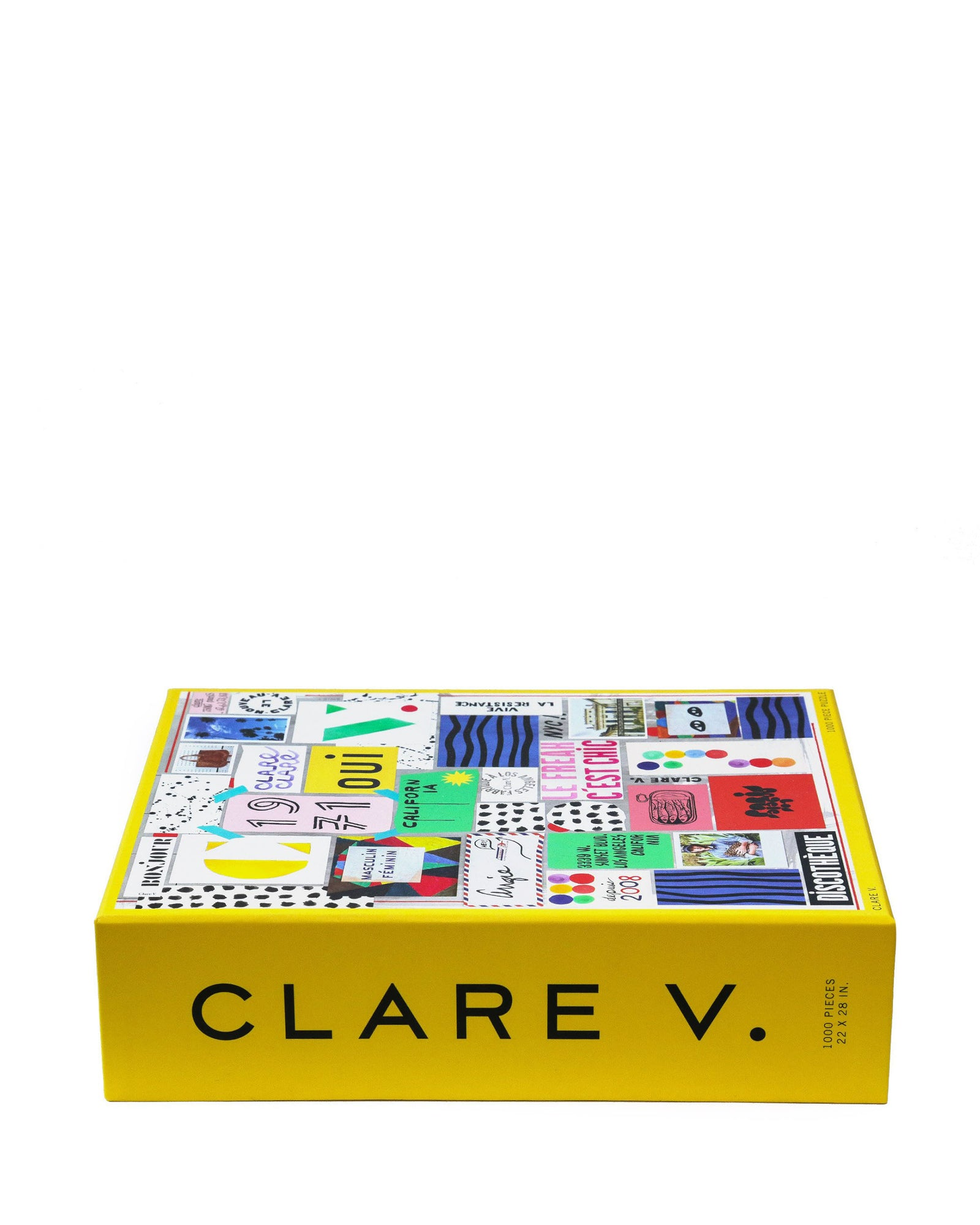 Clare V. Puzzle - Side of Box