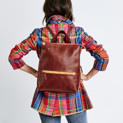Mahogany Rustic Remi Backpack