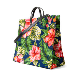 Maui Floral Simple Tote - Back