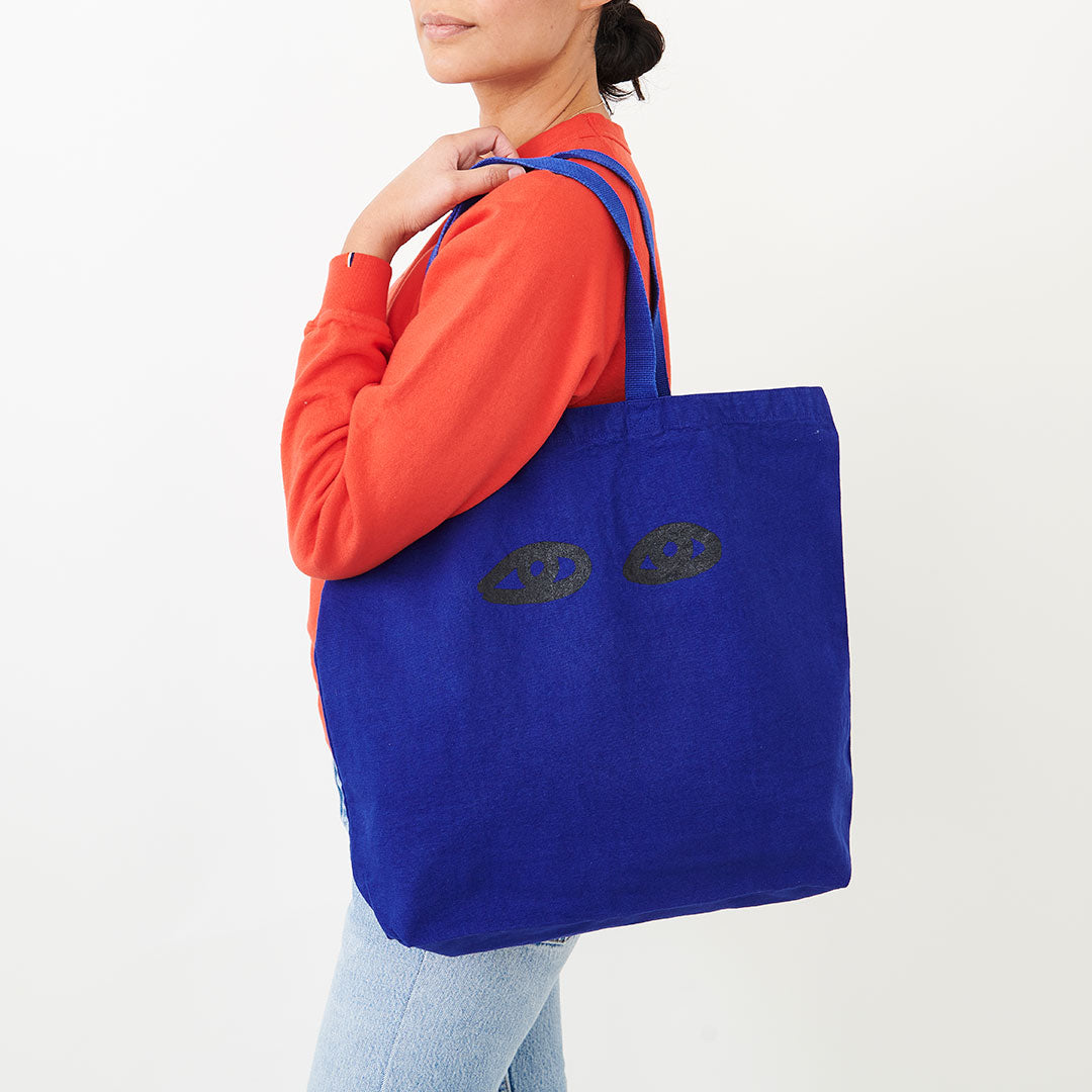 Cobalt Saturday Tote