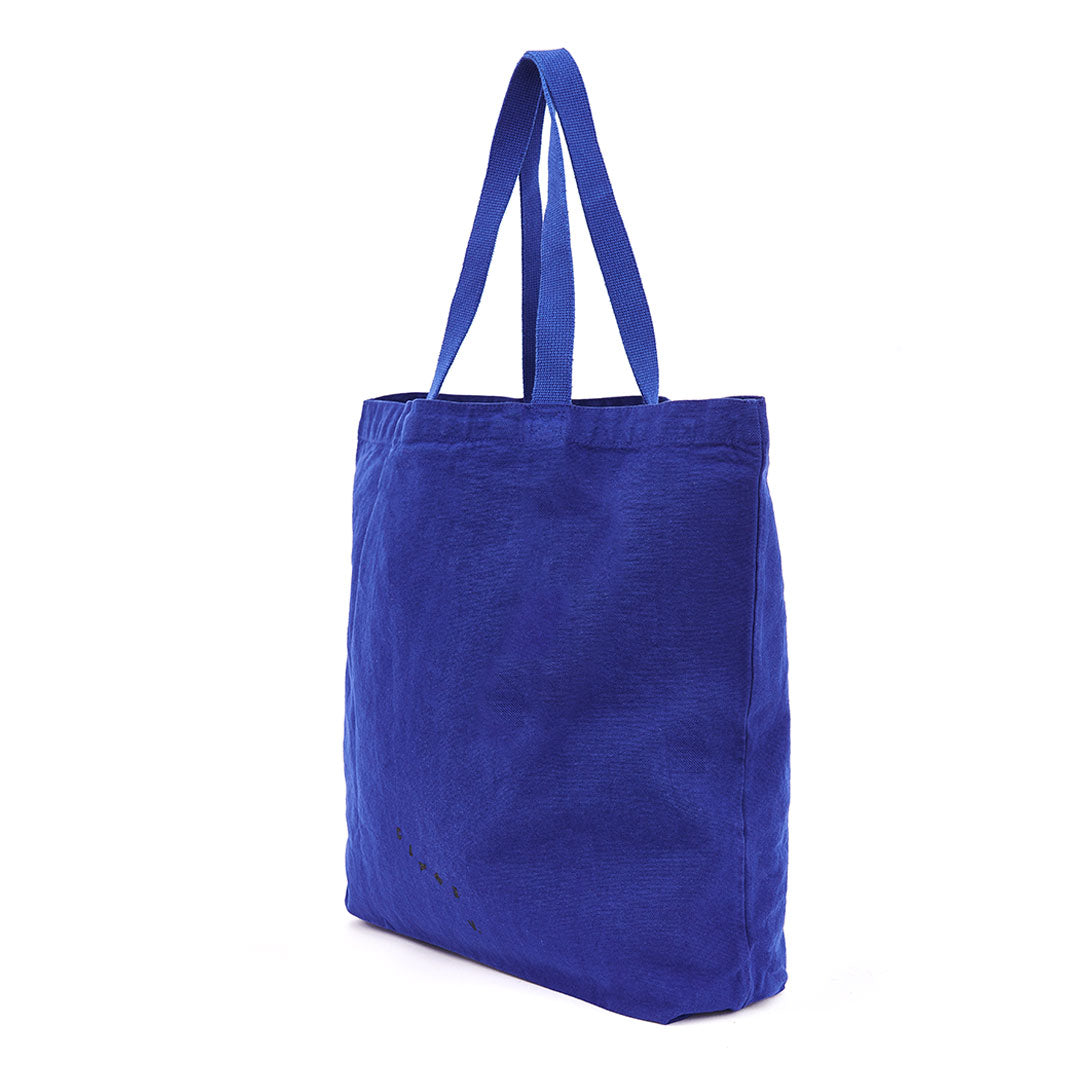 Cobalt with Eyes Saturday Tote - Back