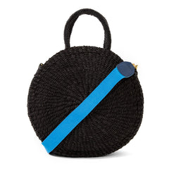 Cerulean Shoulder Strap with Black Alice