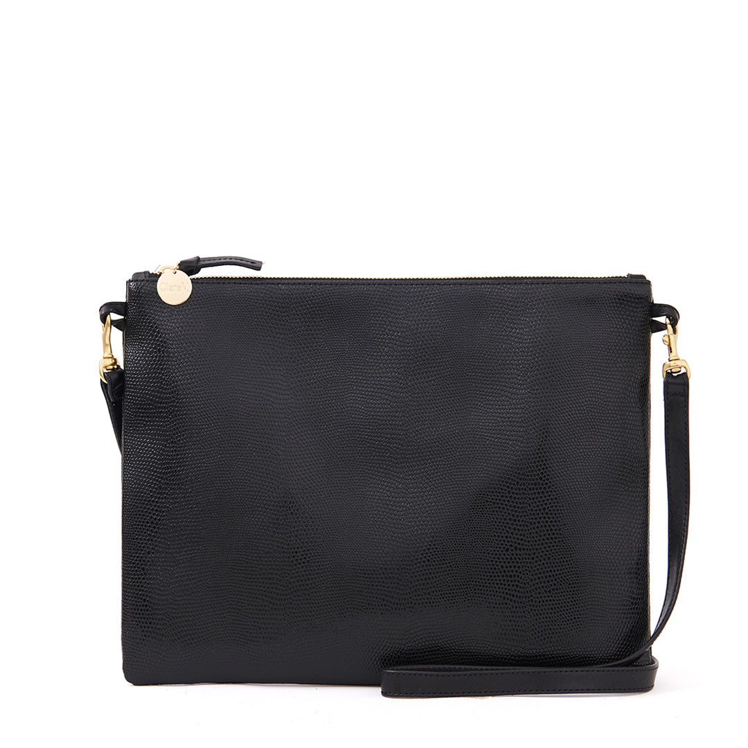 Black Lizard Sac Bretelle - Front