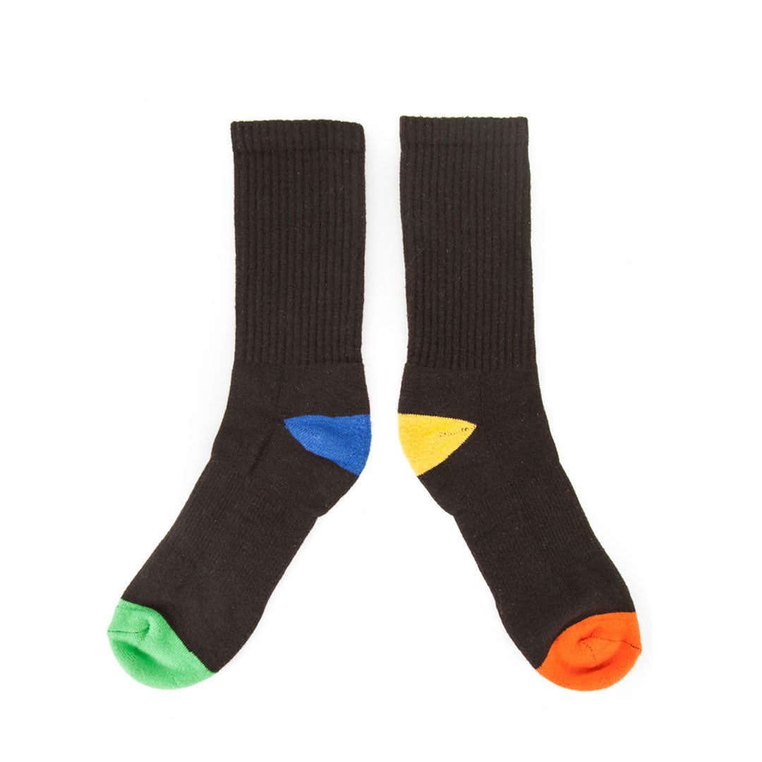 Clare V. x The Hundreds Socks - Back of each side