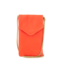 Soft Camille in Lipstick with Thin Crossbody Chain Strap