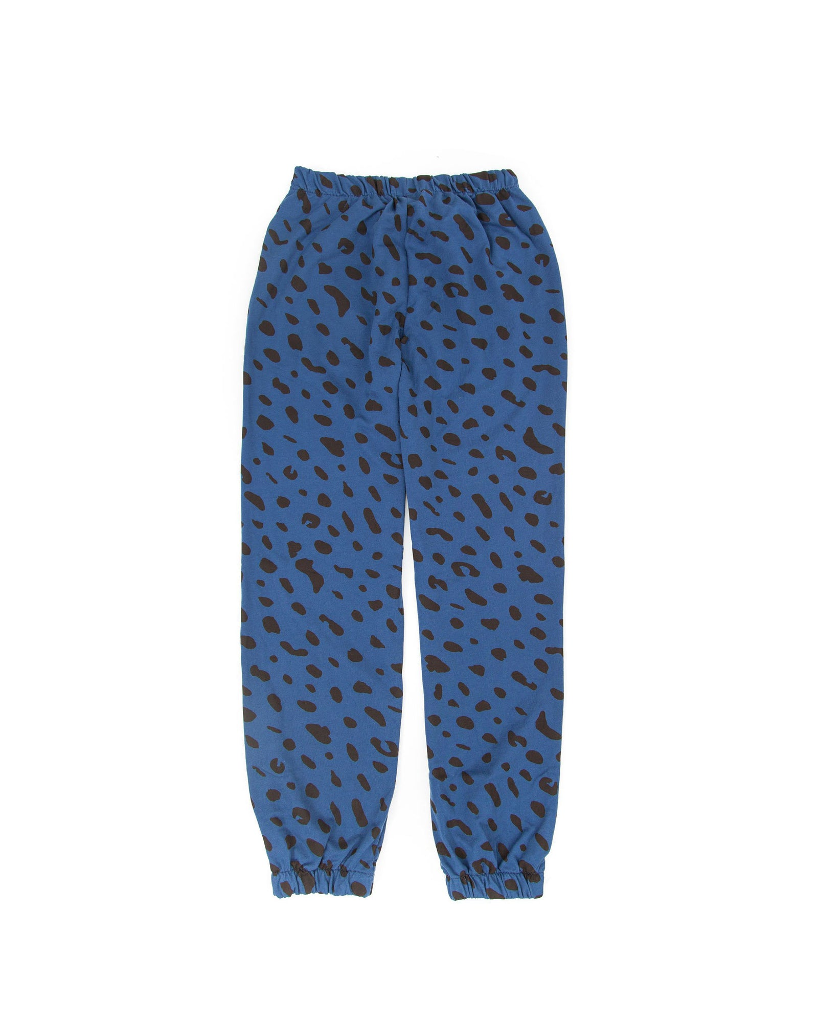 Faded Marine Jaguar Sweatpants - Front