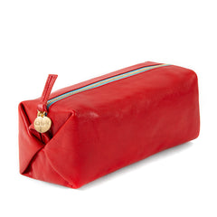 Cherry Red Toiletry Case - Front