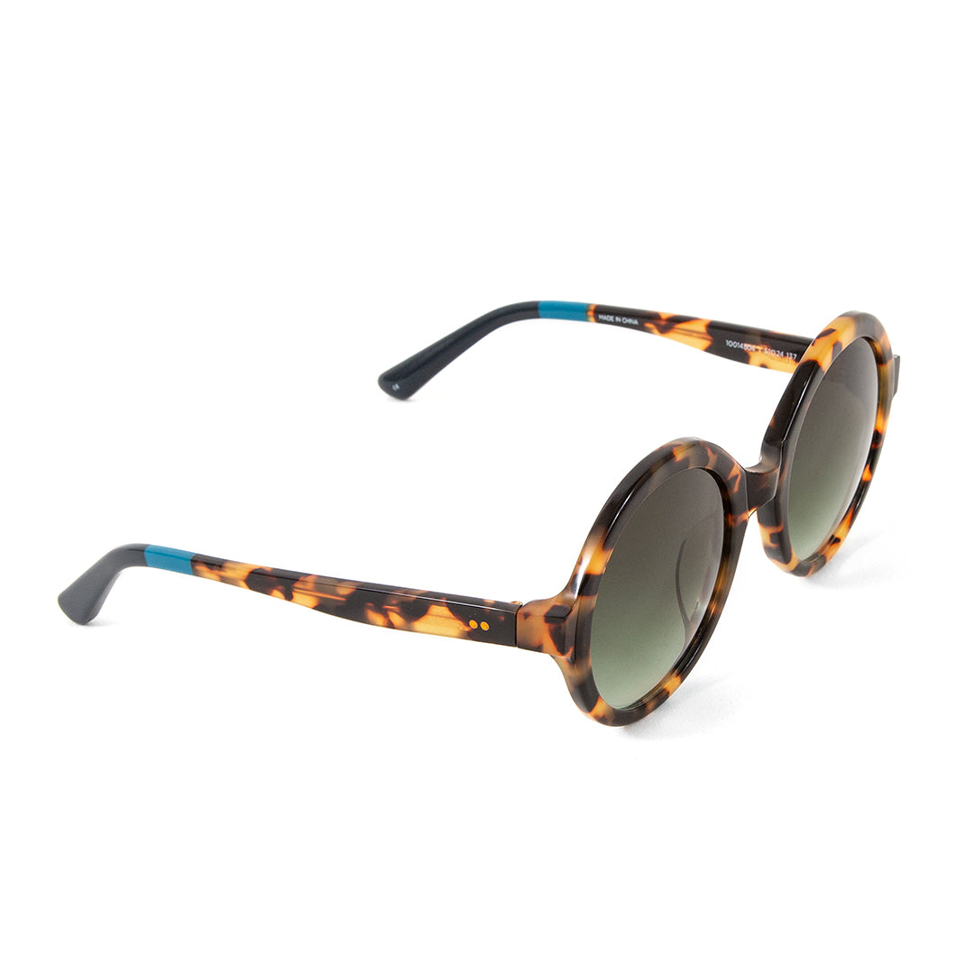 TOMS Harlow Blond Tortoise Sunglasses - Side