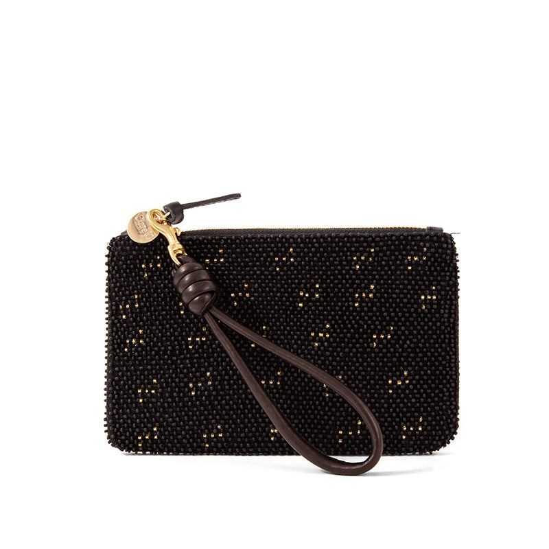 Wallet Clutch with Cord Wristlet