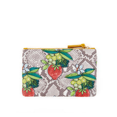 Strawberry Snake Wallet Clutch - Back