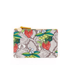 Strawberry Snake Wallet Clutch