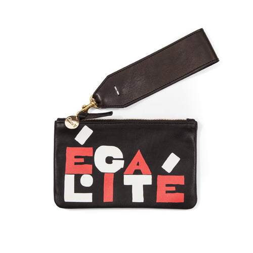 Clare V. x On the Basis of Sex Wallet Clutch with Wristlet