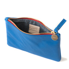 Cobalt Wallet Clutch - Interior