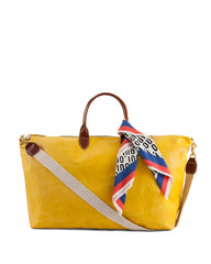 Yellow Weekender with Oui Bandana