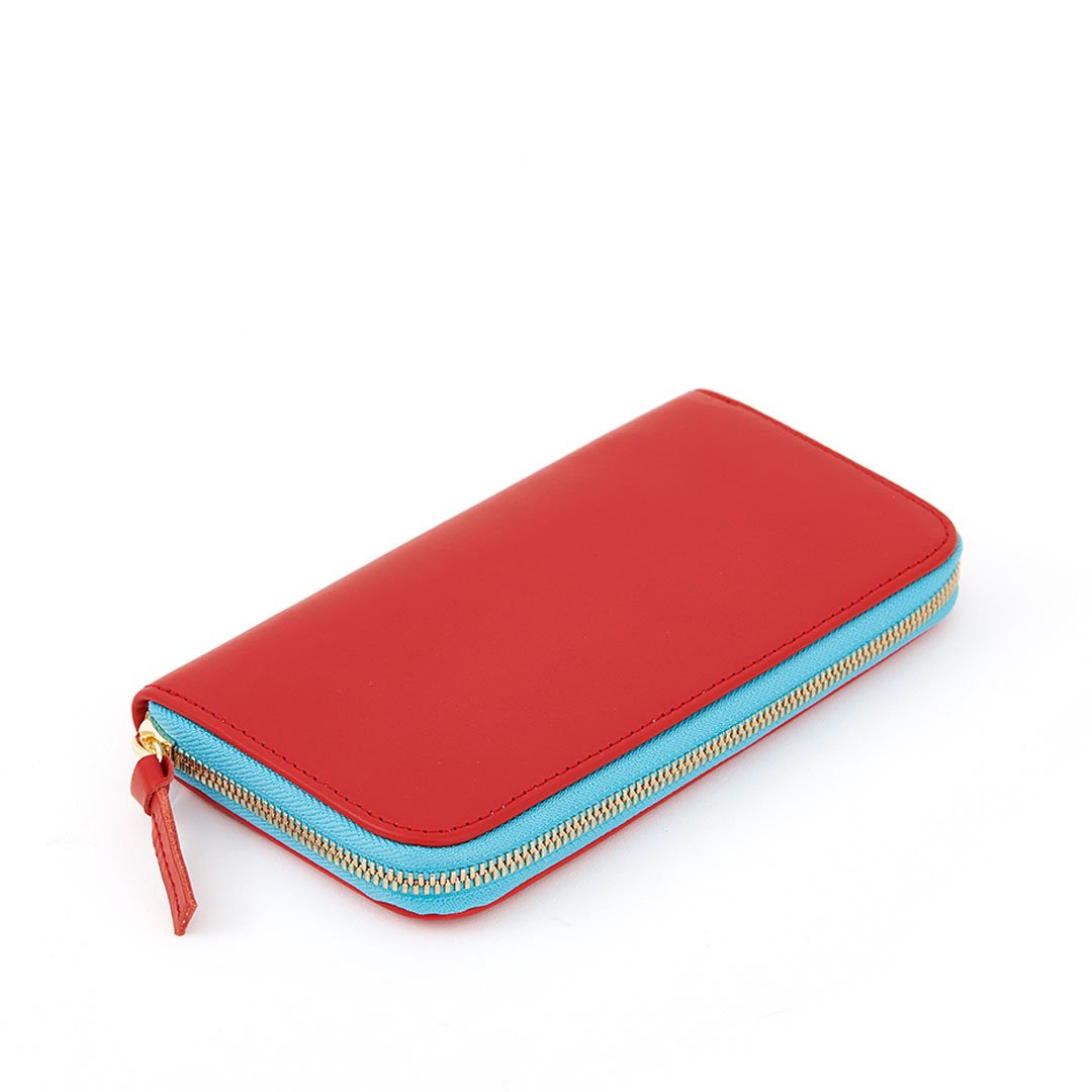 Cherry Red Zip Wallet