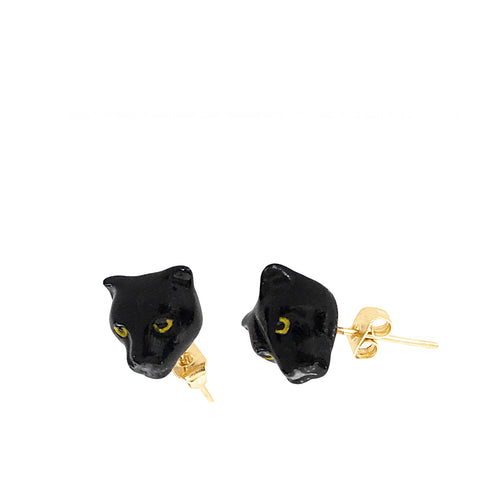 Nach Bijoux Mini Panther Earrings