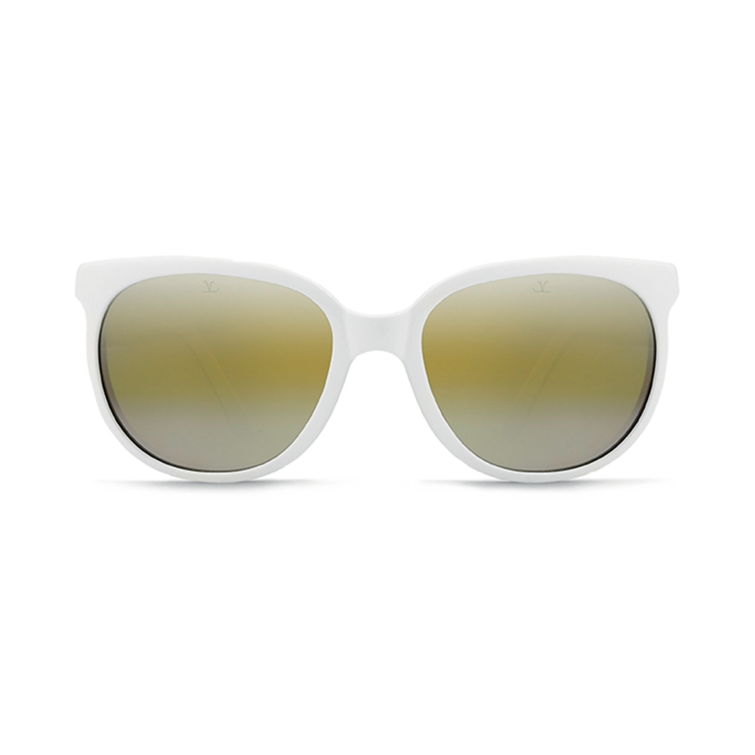 Vuarnet Sunglasses - Cat Eye - Matte White