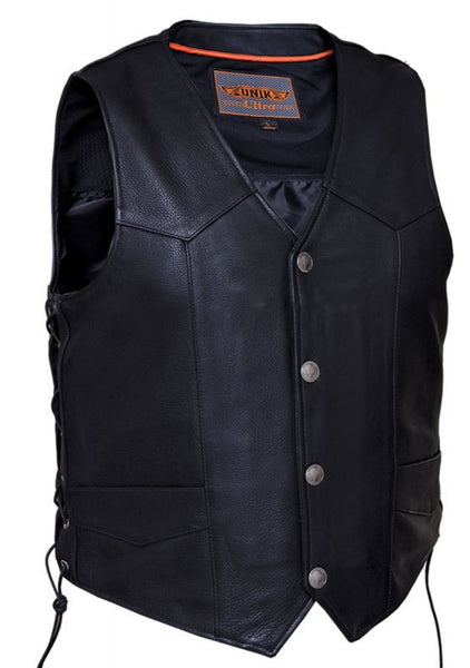 Mens Traditional ULTRA Snap Front Vest