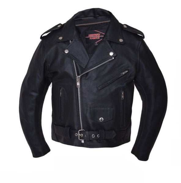 Kids M.C. Leather Jacket