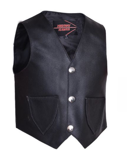 Toddlers Leather Vest