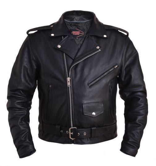 Mens Traditional HIGHWAY HAWK M.C. Jacket