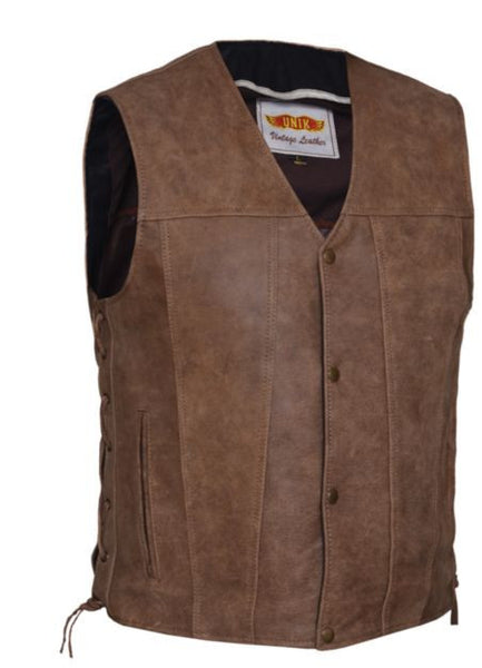 Mens ARIZONA Brown Vest