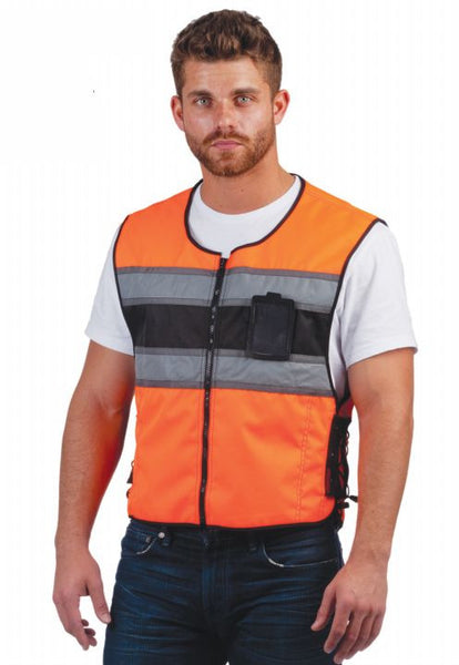 REVOLUTION GEAR Safety Vest with Reflective Accents