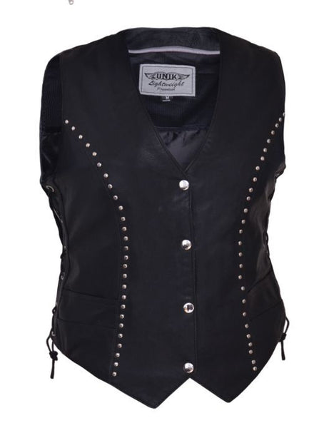Ladies PREMIUM Studded Vest