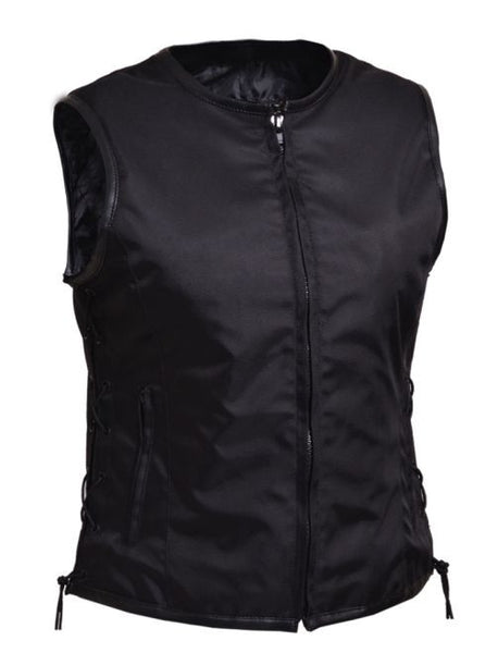 Ladies REVOLUTION GEAR Collarless Zippered Club Vest