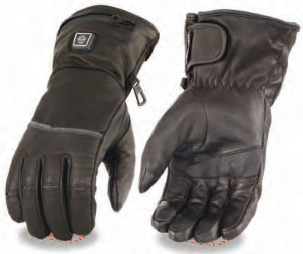 Men's Heated Gauntlet Glove W/ Touch Screen Fingers