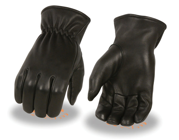 Men's Unlined Deerskin Gloves w/ Cinch Wrist
