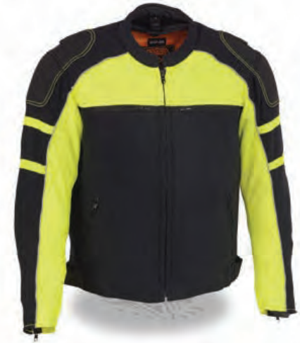 Men's Mesh Racing Jacket W/ Removable Rain Jacket Liner