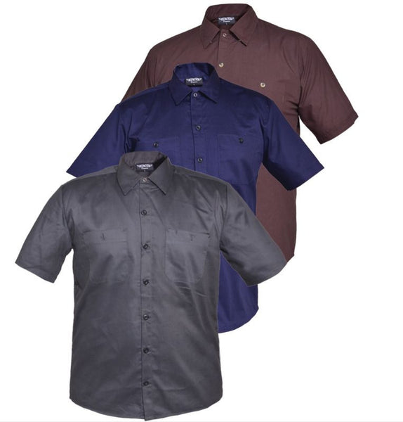 Mens UNIK DENIM Workshirt - Grey