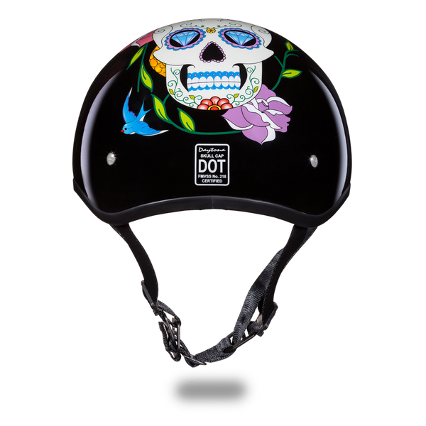 Daytona 1/2 Shell Hemlet - Diamond Skull