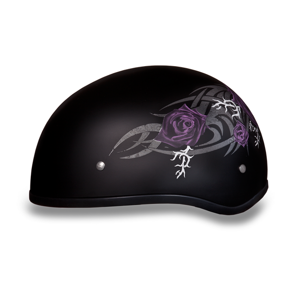 Daytona 1/2 Shell Hemlet - Purple Rose